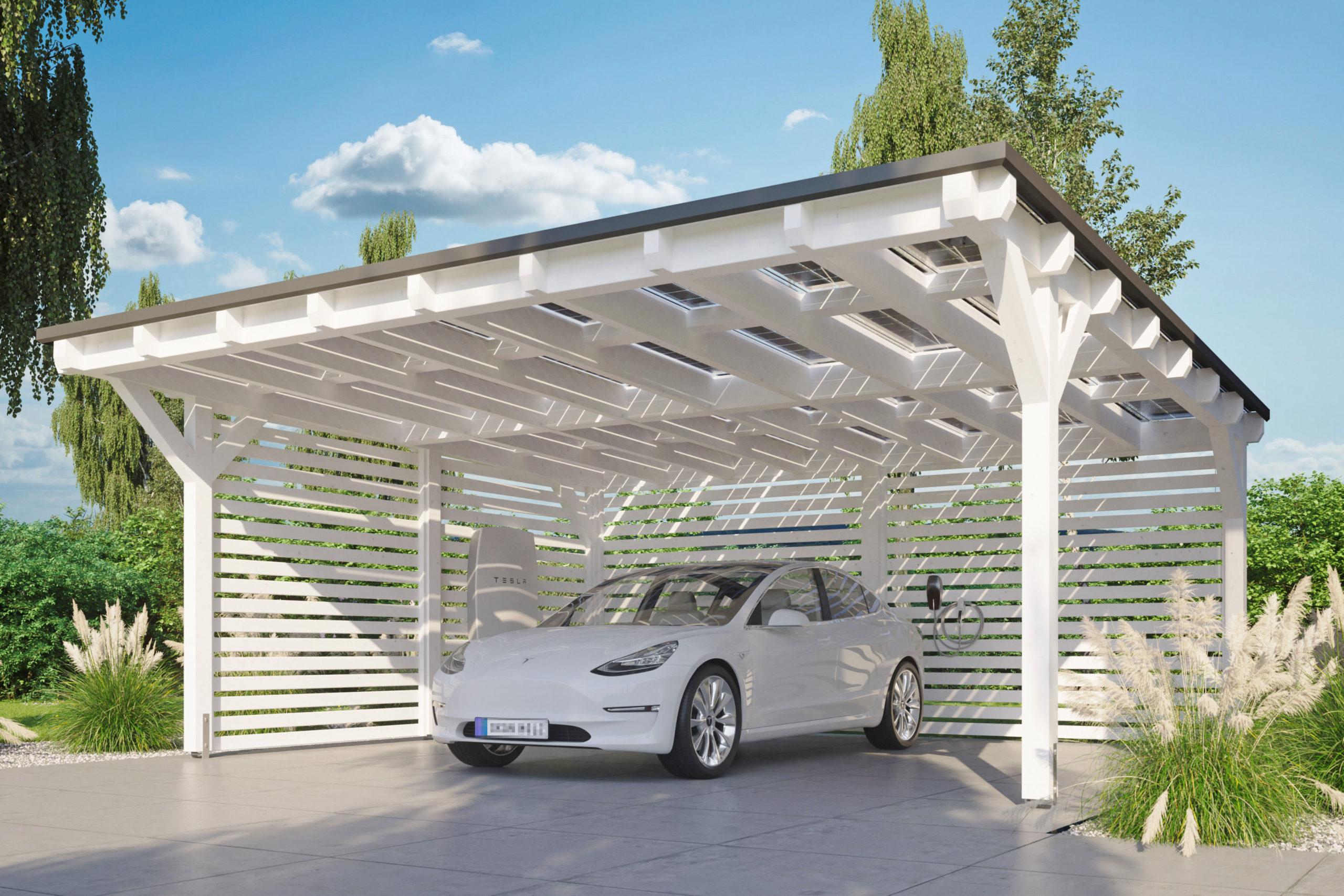 Solarstrom vom Carportdach