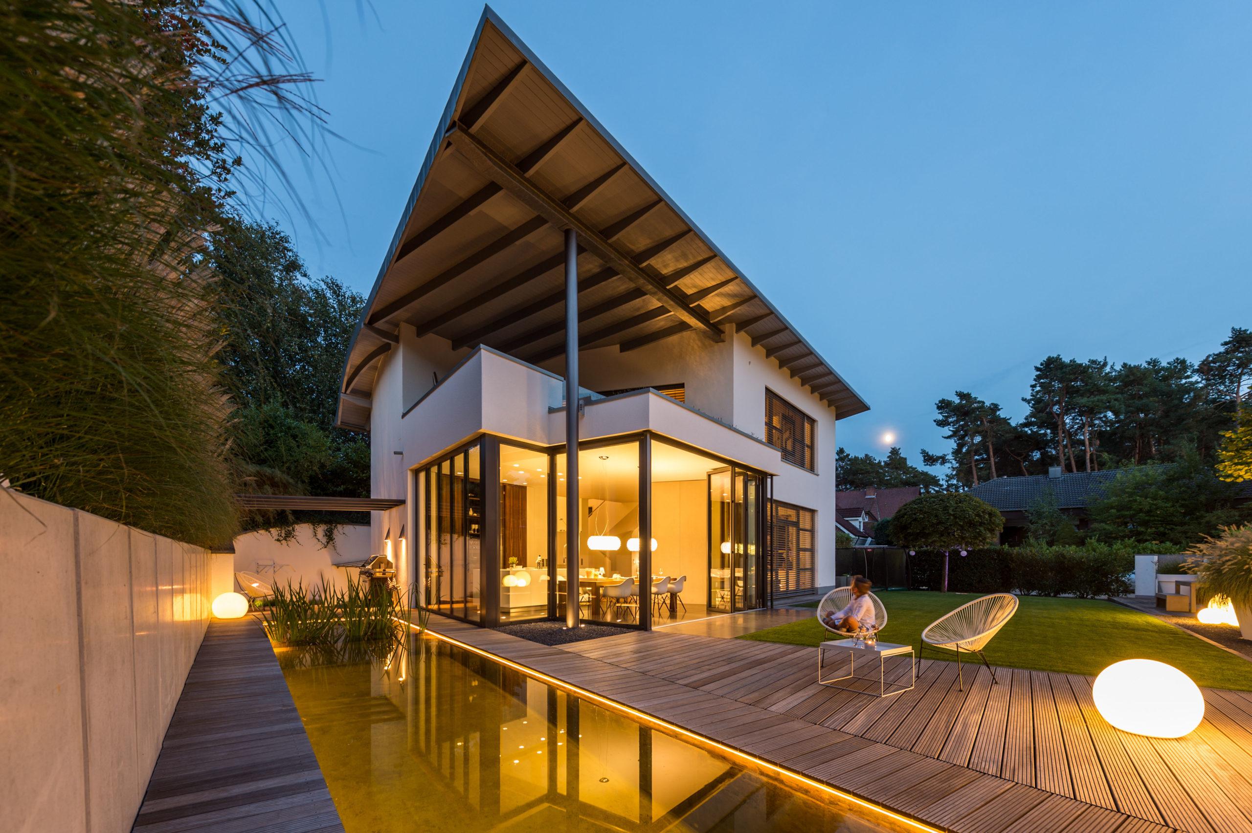 Einzigartiges Haus durch individuelle Planung