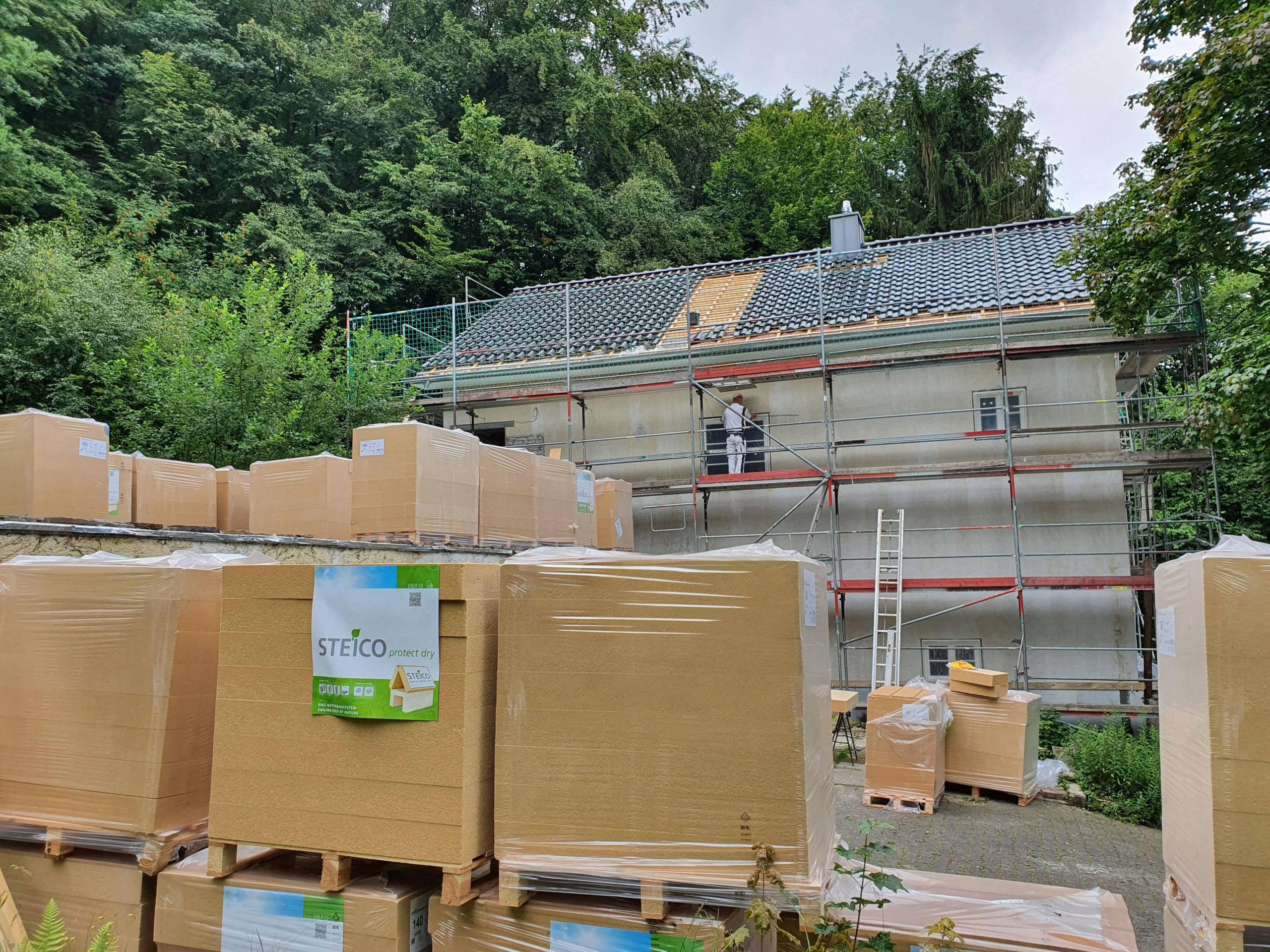 Umweltfreundliche Fassadensanierung