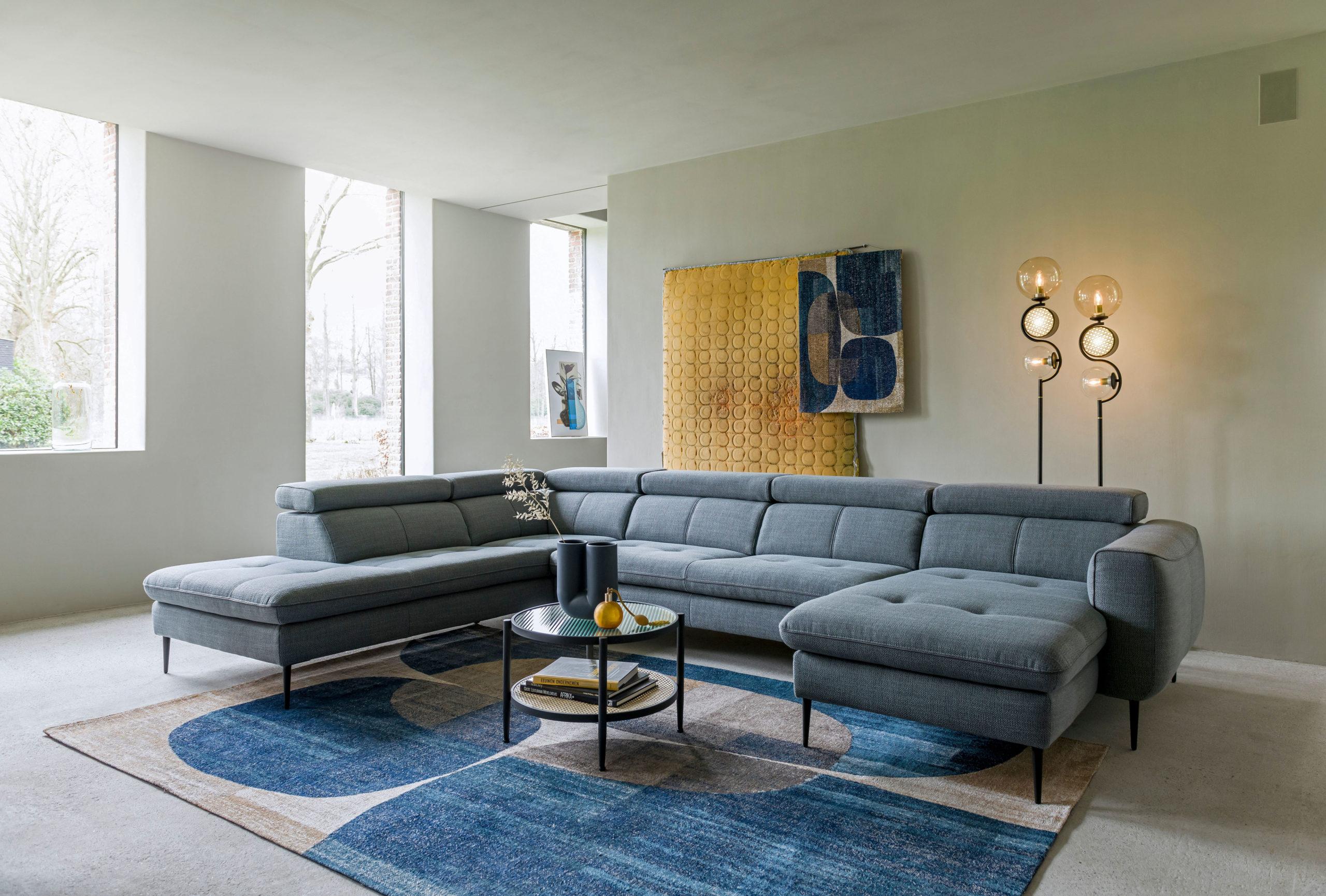 Wohnzimmer im Japandi-Stil