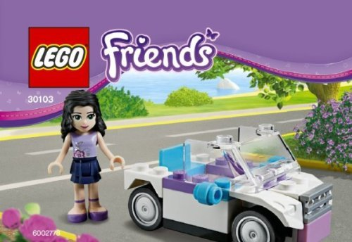 LEGO® Friends Emma mit dem Auto (30103 im Polybeutel)