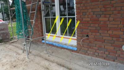 Terrassentür gegen einbrechen sichern Bauabnahme, Haus gegen Einbruch sichern