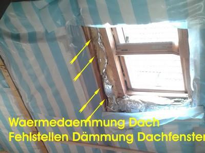 Waermedaemmung Dach