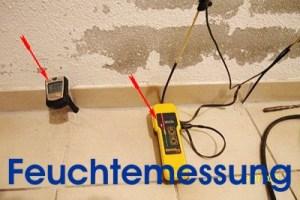 Bauabnahme Eigentumswohnung Haus check Feuchte