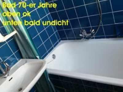 ursache schimmelpilz in der wohnung altes Bad 70-ger Jahre Schimmelgutachter Tipps