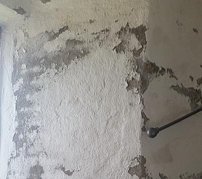 Ausblühungen Keller Mauerwerk Farbabplatzungen beseitigen