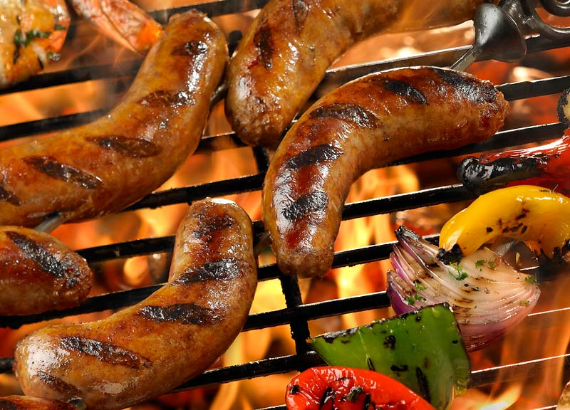 Why is Germany famous for sausages?
