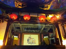 Stage for Chinese opera performance