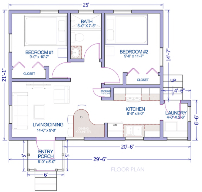 guava 2bed-plans