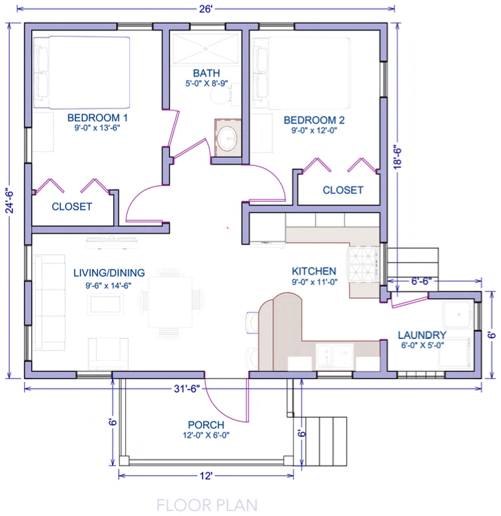 hibiscus 2bed-plans