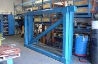 New Baum shaker screen frame 8x8 HSST bolted sides 2 levels