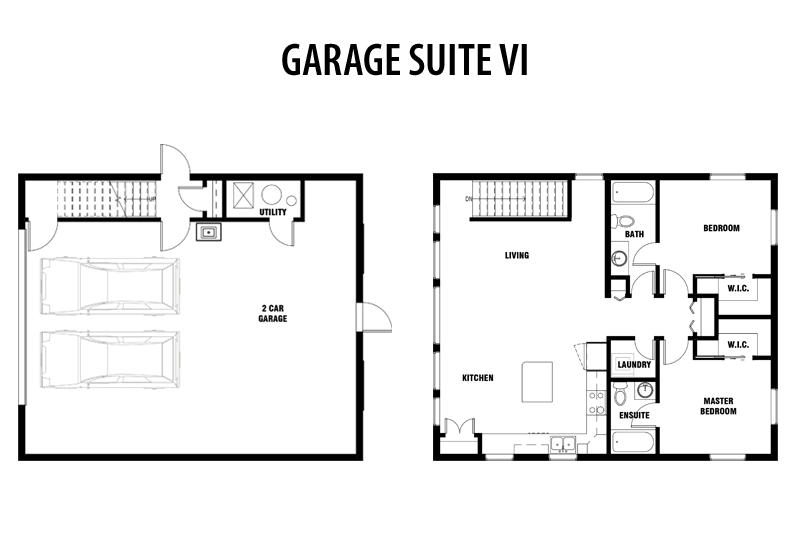 Convert garage into master bedroom suite plans www Garage conversion floor plans