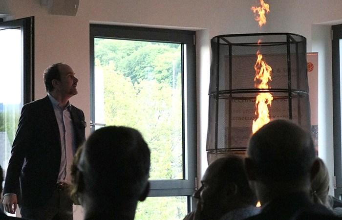 Brennt das Feuer noch in Ihnen? Unternehmergespräche Nordhessen 2017 bei Jakob & Sozien