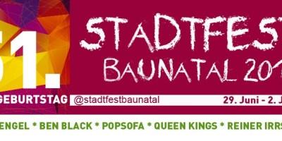 Baunatal, Stadtfest Baunatal, Baunatal Nachrichten. Baunatal News