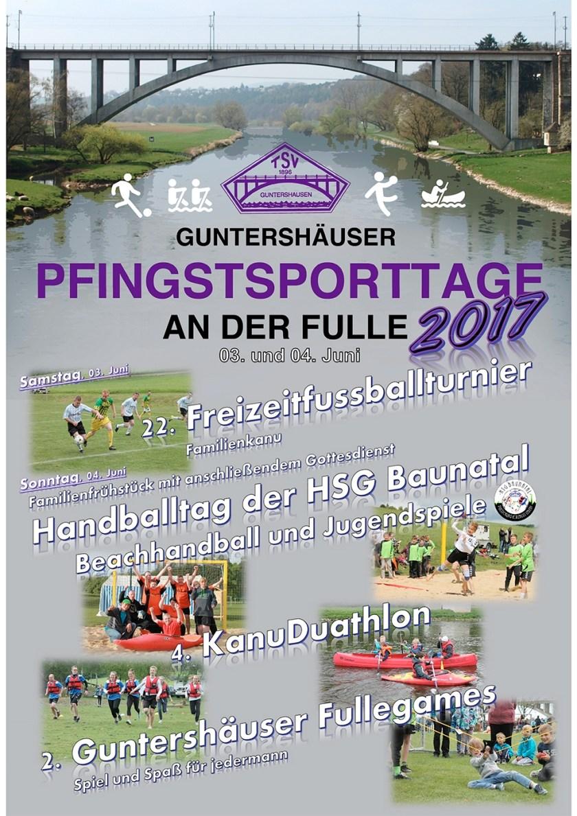Pfingstsporttage Guntershausen, Baunatal Blog, TSV Gunterhausen