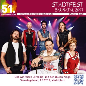 stadfest baunatal, Stadtmarketing baunatal, baunatal, Queen Kings