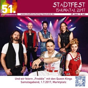 stadfest baunatal, Stadtmarketing baunatal, baunatal, Queen Kings