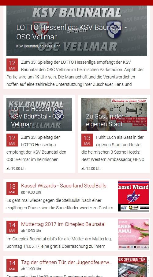 Baunatal, Stadtmarketing Baunatal, Baunatal Blog, Veranstaltungstips