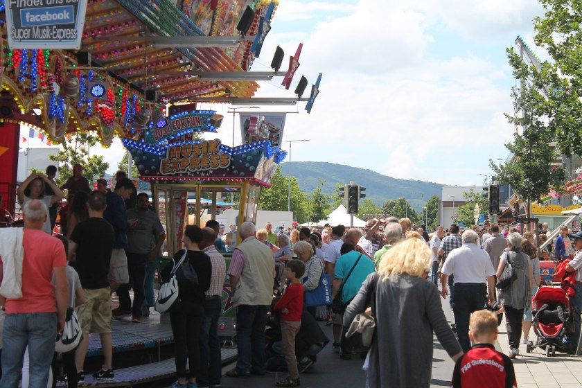 Festmeile Stadtfest Baunatal Friedrich-Ebert-Allee
