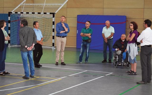Baunatal - Extra Tip Entdeckertage 2017 - Sporthalle Hertingshausen -Tag der Architektur