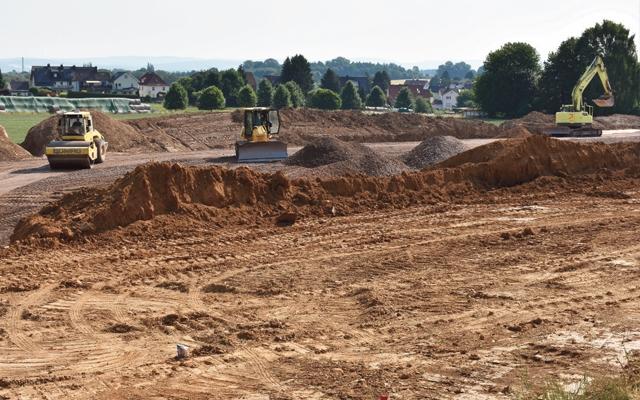 Nahversorgung Rengershausen - Vorbereitende Arbeiten zum Bau eines Lebensmittelmarktes haben begonnen