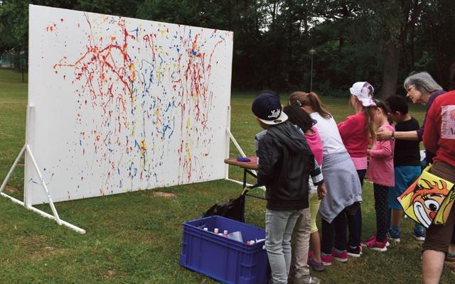 Kinderkultursommer Nordhessen in Baunatal