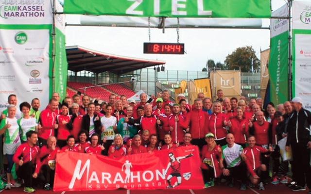 Sportstadt Baunatal beim Kassel-Marathon