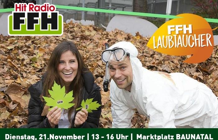 Herbst-Spaß in Hessen: HIT RADIO FFH-Laubtaucher auch in Baunatal