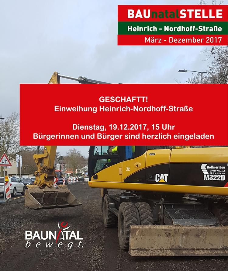 Einweihung Heinrich-Nordhoff-Straße, Baunatal