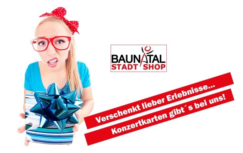 StadtShop Baunatal; Stadtmarketing Baunatal, Ticketshop
