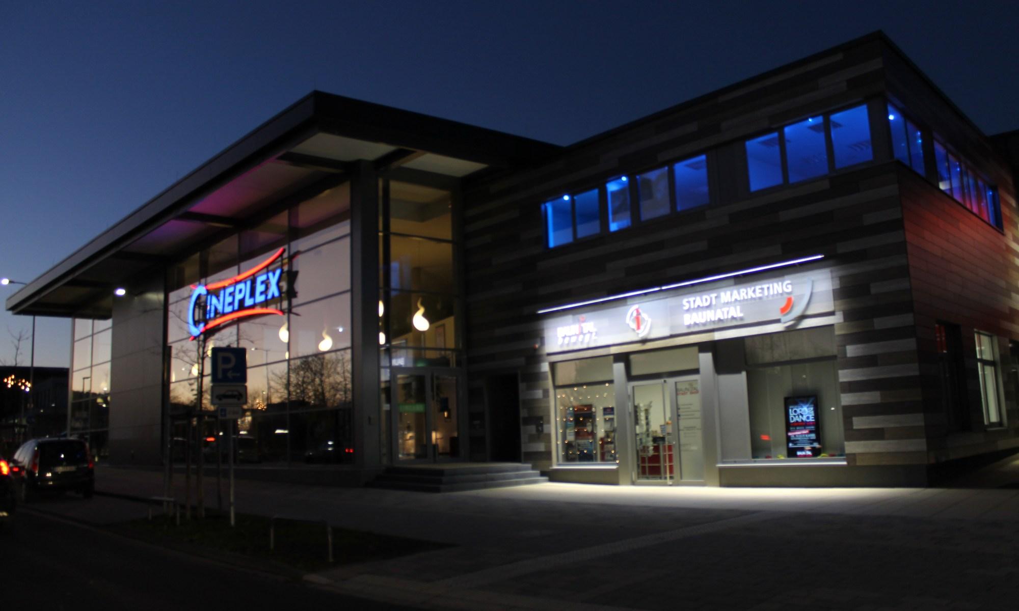 Cineplex Baunatal, STadtmarketing Baunatal, Foto: Stadtmarketing Baunatal