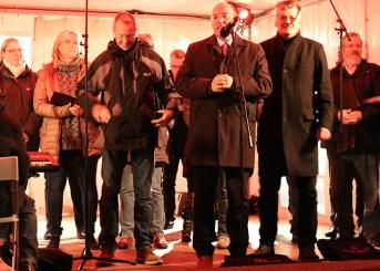 Nikolausmarkt Baunatal , Stadtmarketing Baunatal , Manfred Schaub , Peter Hammerschmidt , Dirk Wuschko