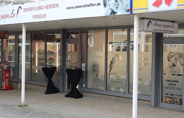 Friseursalon Schüffler seit November 2017 in den neuen Räumen in der City Baunatal