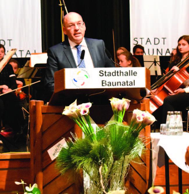 Baunatal, Neujahrsempfang 2018, Manfred Schaub