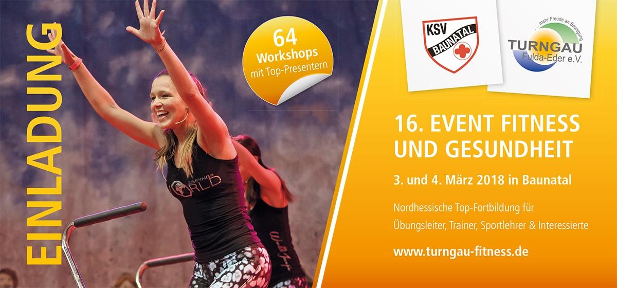 Top Fortbildung für Übungsleiter, Trainer, Sportlehrer und Interessierte beim Fitness Event in Baunatal