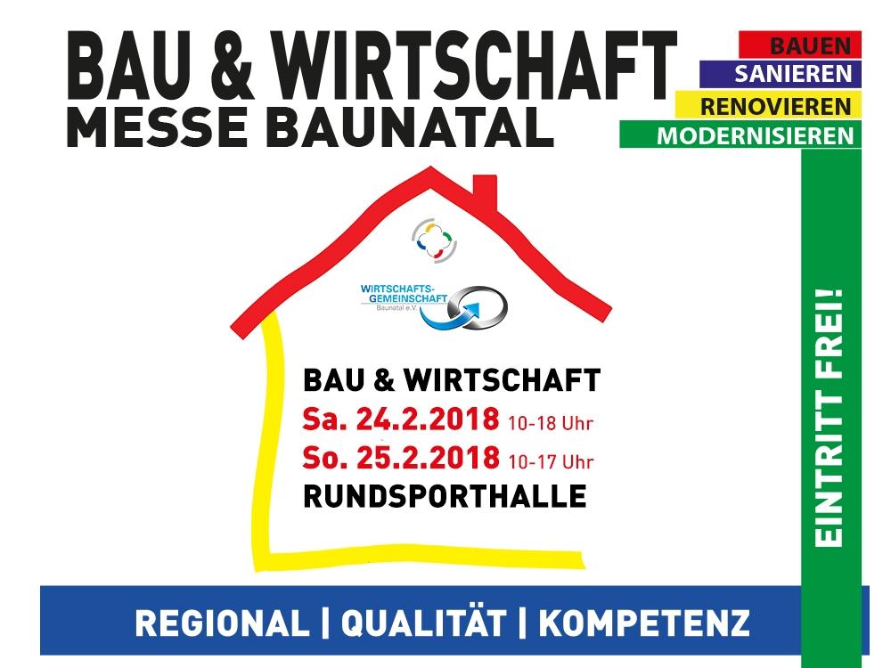 Bau- und Wirtschaftsmesse Baunatal 2018 - Regionale Wirtschaft