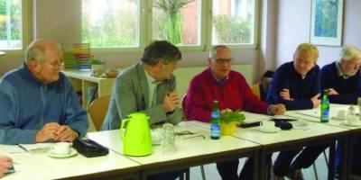 Baunatal, Seniorenarbeitskreis Baunatal, Dirk Wuschko, Herbert Engel, Wolfram Maibaum, Hans-Joachim Botthof, Egon Bader