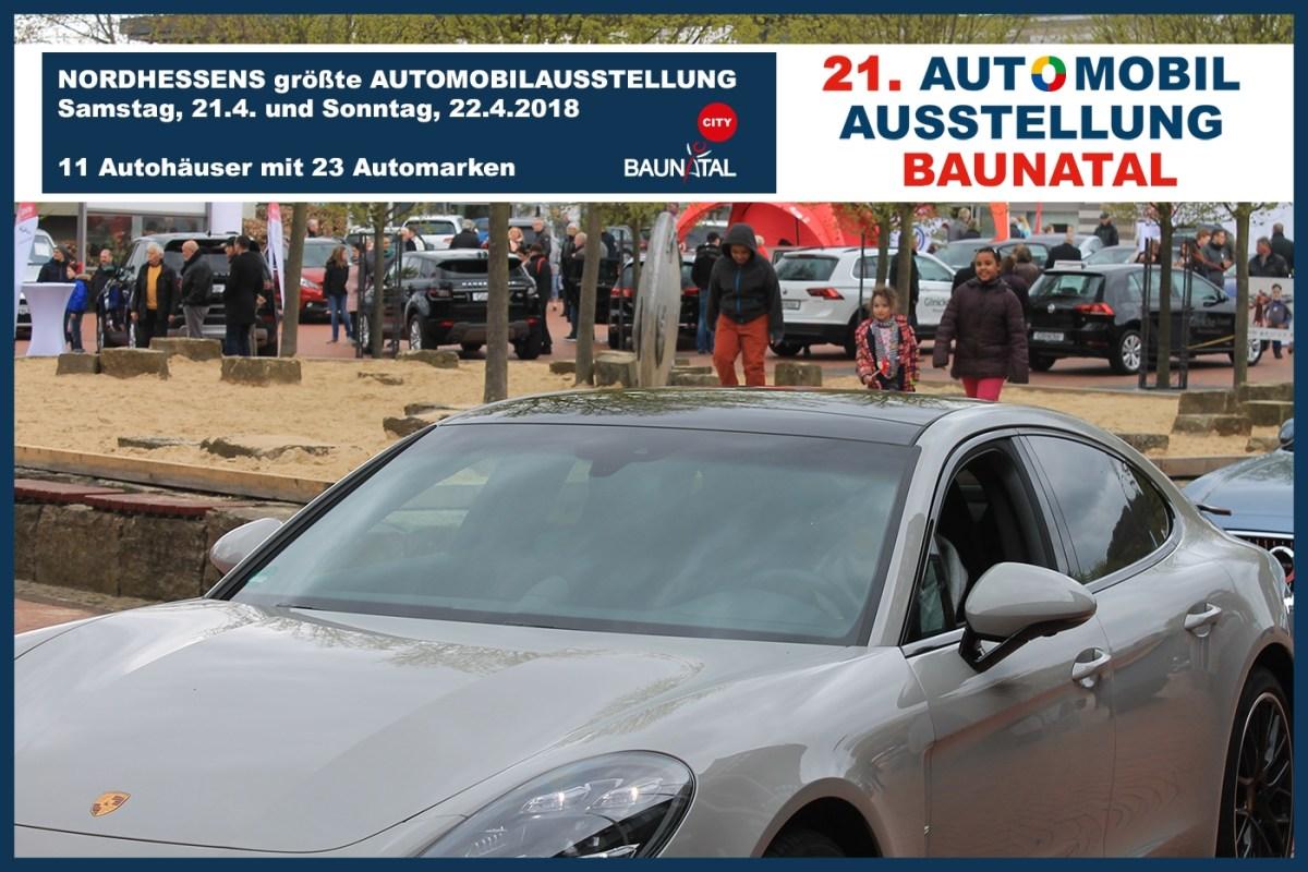 Nordhessens größte Automobilausstellung ist im April 2018 in Baunatal