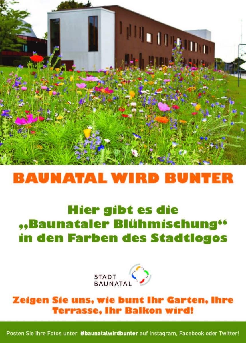 """""""Baunataler Blühmischung"""" an vielen Orten erhältlich"""