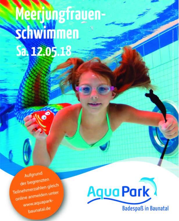 Aquapark Baunatal, Meerjungfrauenschwimmen, Bauantal, Baunatal Blog