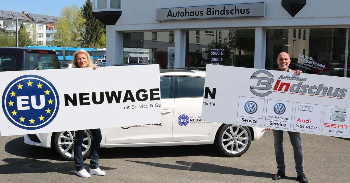 Autohaus Bindschus jetzt mit EU-Neuwagen und Garantie auf der Baunataler Automobilausstellung