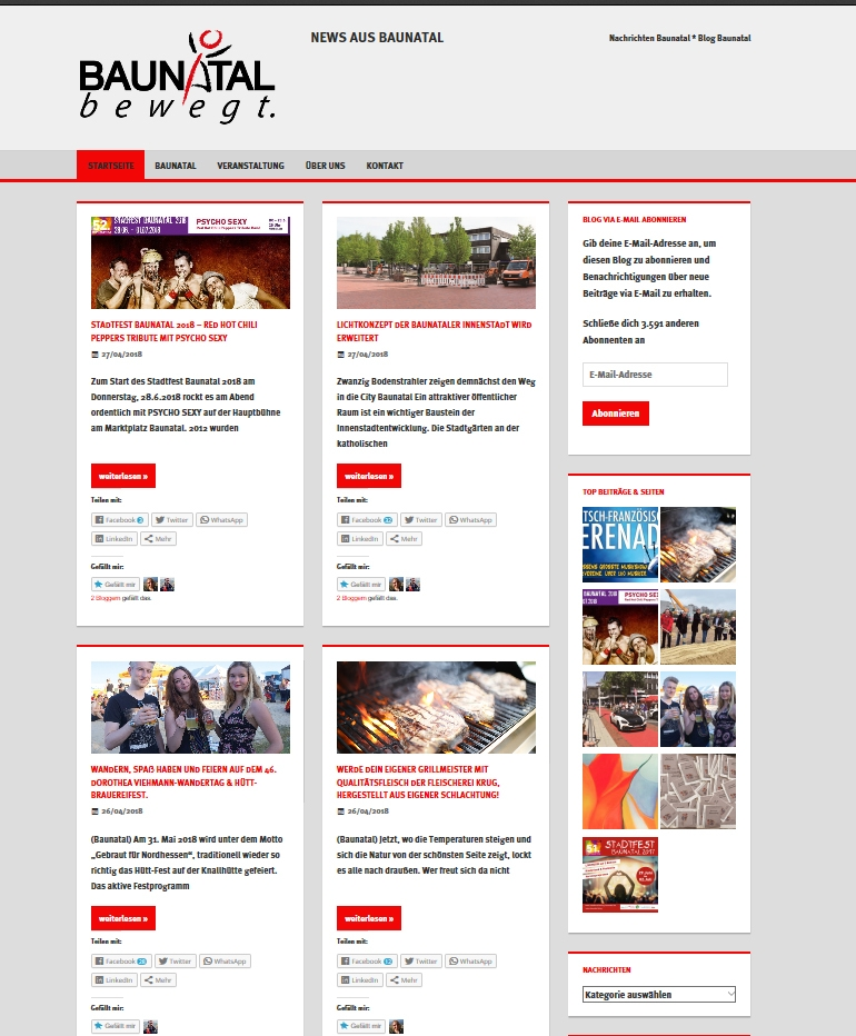 BaunatalBlog, Baunatal.Blog, Stadtmarketing Baunatal, Nachrichten Baunatal