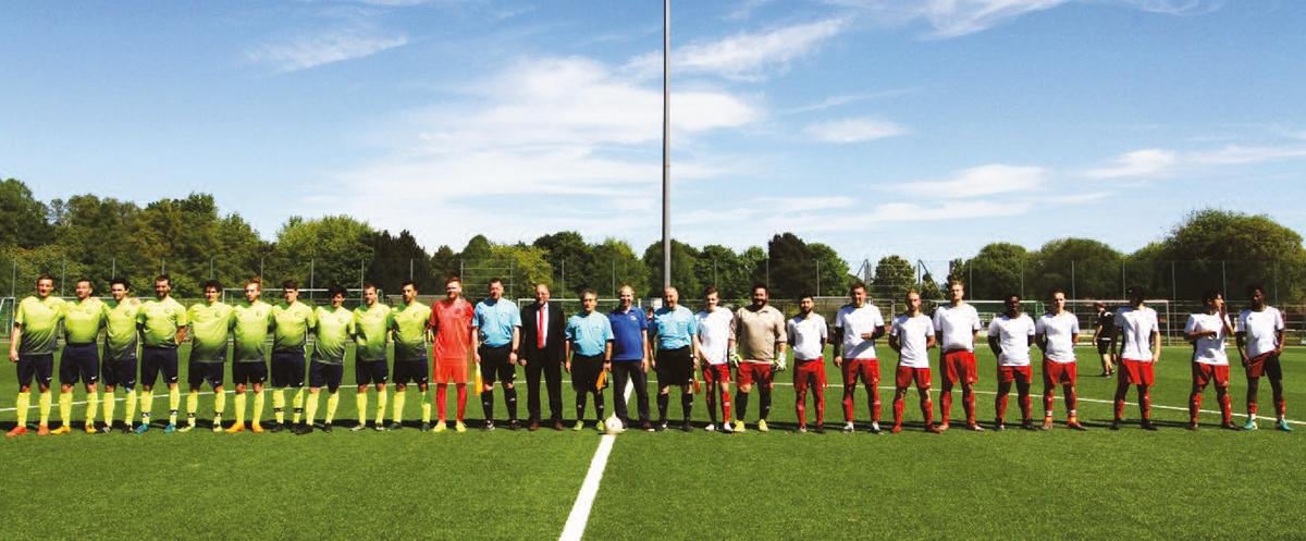 Viertelfinale der Deutschen Meisterschaft in Baunatal