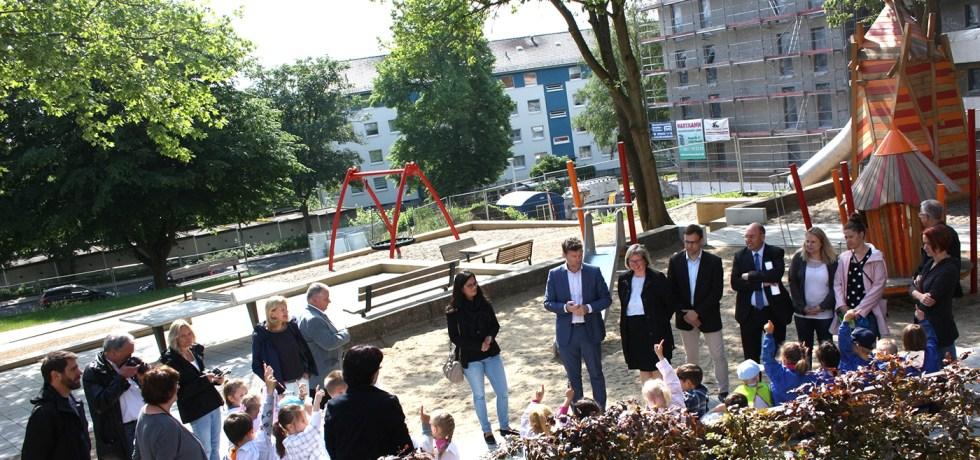 Spielplatz Birkenallee Baunatal, GWH Kassel, Baunsberg