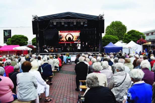 Stadtfest Baunatal, ökumenischer Gottesdienst