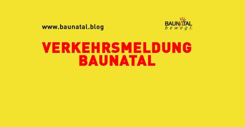 Baunatal, Verkehrsmeldung