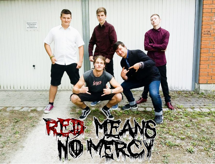 Konzert Red Means no mercy, Baunatal