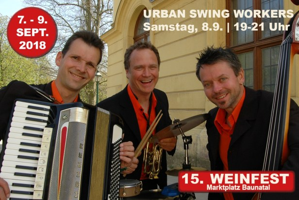 Weinfest Baunatal, 9.9.2018, Urban Swing Worker