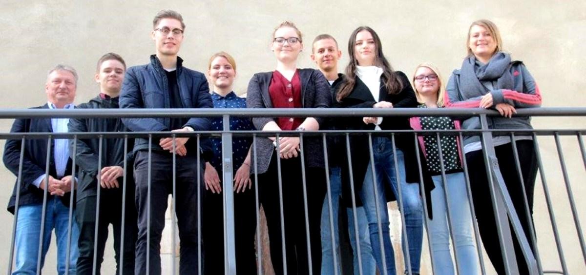 Azubiaustausch in Baunatals Partnerstadt Sangerhausen
