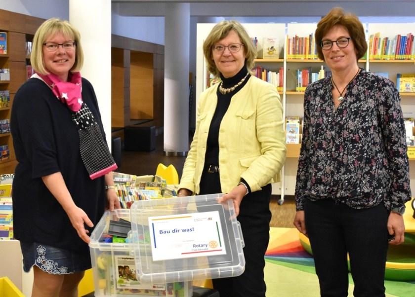 Stadtbücherei Baunatal, Stadtbibliothek Baunatal, Rotaryclub Baunatal